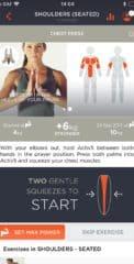 Рисунок 4 Экран описания упражнений